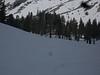 1st view of Pear lake Hut