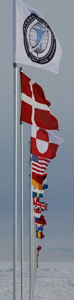 The flag line<br /> <br /> Flagrækken<br /> Photo: Henning Thing