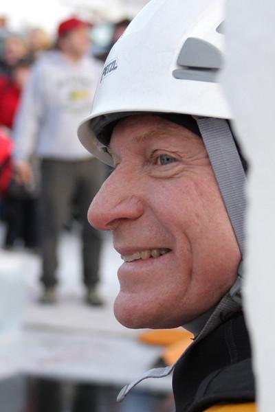 Dick Quinn, the ready rescuer.