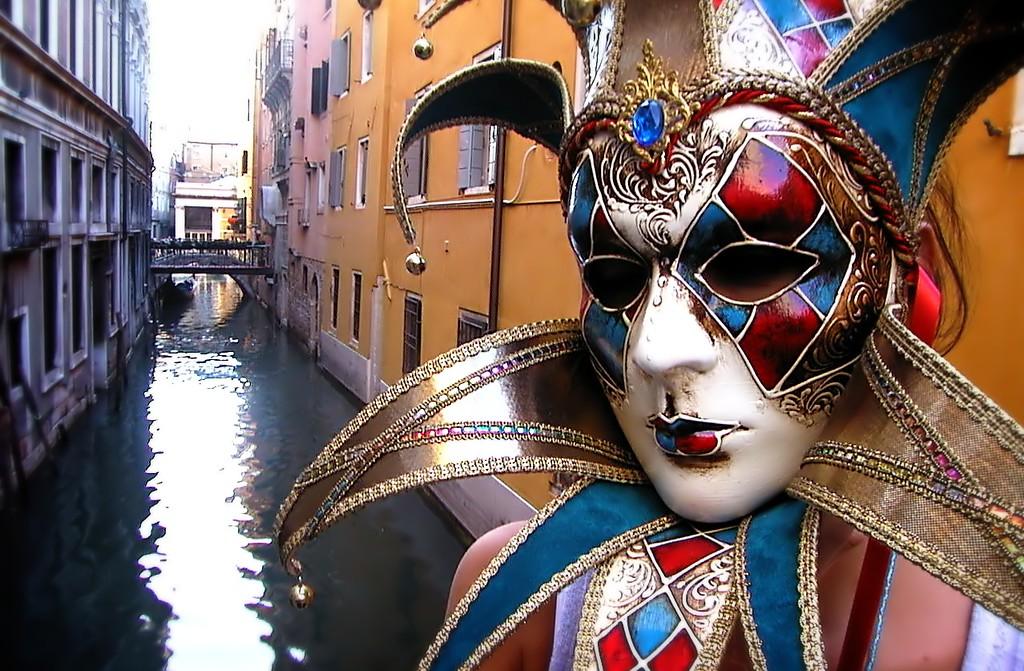 Maskmaker Maria, Venice