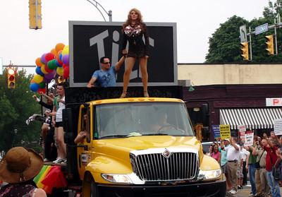 Tilt's Float With Drag Queen