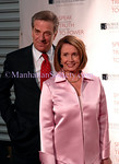 NEW YORK-NOVEMBER 19: Speaker of the House Nancy Pelosi (right) and Paul Pelosi  attend ROBERT F. KENNEDY CENTER FOR JUSTICE & HUMAN RIGHTS Bridge Dedication Gala at Pier Sixty, Chelsea Piers, New York, NY on Wednesday, November 19, 2008  (Photo Credit: Christopher London/ManhattanSociety.com)