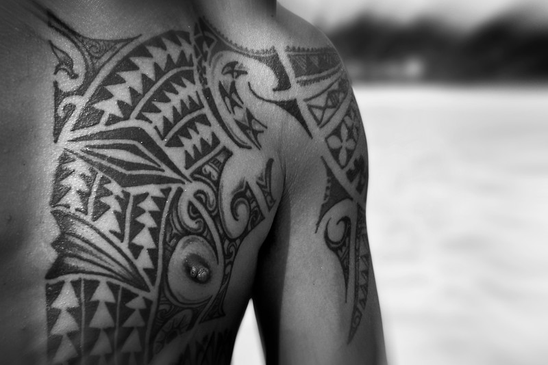 tour guide tattoo (captain tama's cruise)