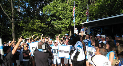 PantherFanz tailgate with Sir Purr