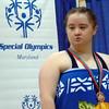 TMD Sport Swimming MD Special Olympics Summer Games Towson SOMO Ceremony Larissa K Bronze DSC01648