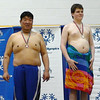 TMD Sport Swimming MD Special Olympics Summer Games Towson SOMO 50 free ceremony Alexander gold, Sam Park silver DSC01644