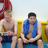 TMD Sport Swimming MD Special Olympics Summer Games Towson SOMO 4 x 50 Medley Pre Race Javi Andy Neil Zak DSC01599