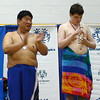 TMD Sport Swimming MD Special Olympics Summer Games Towson SOMO 50 free ceremony Alexander gold, Sam Park silver DSC01645