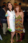 Fabiola Beracasa and Nicole Miller at SUMMER SOLISTICE! Benefiting GROUP FOR THE EAST END on Saturday, June 21, 2008 at WOLFFER ESTATE VINEYARD (Photo by Christopher London/ManhattanSociety.com)