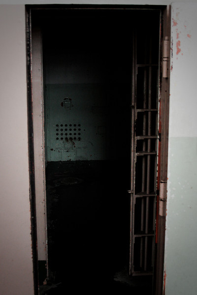 Solitary confinement, for the guys who just don't play well with others.