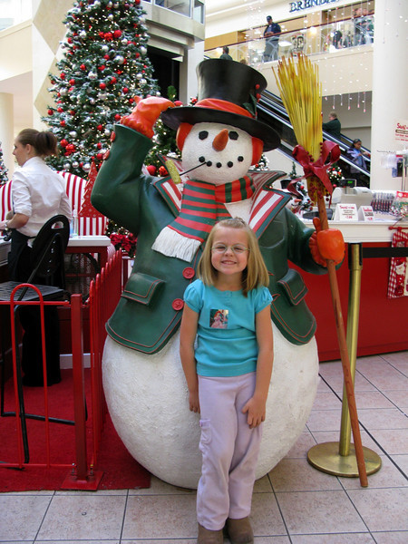 Santa & the Tree - November 2008
