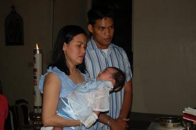 Santi's Baptism 2008