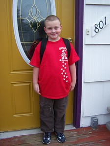 Noah's First Day of First Grade