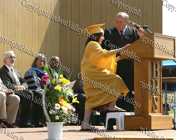 Beacon High School Class Of 2008 Valedictorian Haylee Chugerman Addresses Her Classmates