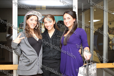 Students pose for a picture prior to NFA's third annual Dancing with the Teachers, held at Newburgh Free Academy on December 12, 2008.