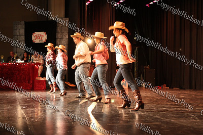 """The group """"Sold"""" performs during NFA's third annual Dancing with the Teachers, held at Newburgh Free Academy on December 12, 2008."""
