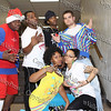 "Members of the group ""Funky Fresh"" back stage before NFA's third annual Dancing with the Teachers was held at Newburgh Free Academy on December 12, 2008."