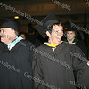 Ralph A Pizzo, Interim Deputy Superintendent of Schools and Vice President of the Newburgh Enlarged City School District Board of Education Dawn Fucheck march in the academic processional of graduates during the summer graduation exercises on August 21, 2008 at Newburgh Free Academy.