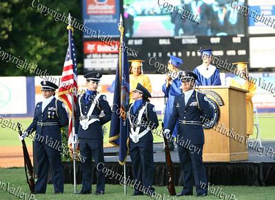 Newburgh Free Academy ROTC Color Guard