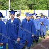 Newburgh Free Academy academic processional of graduates at Dutchess Stadium.