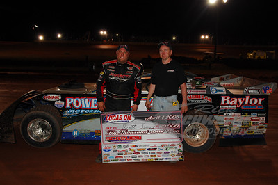 Scott James and Kenny Kenneda in Victory Lane