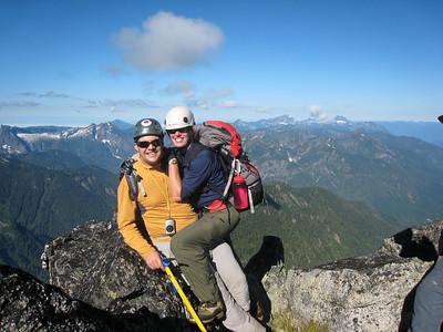 On Sloan Peak