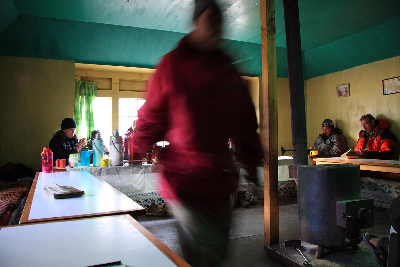 Relaxing in Dzonglha lodge