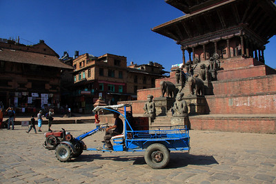 Bhaktapur - UNESCO World Heritage Site (Kathmandu, Nepal)  This is the local delivery method