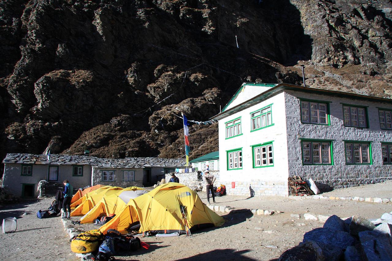 Camp at Dragnag lodge