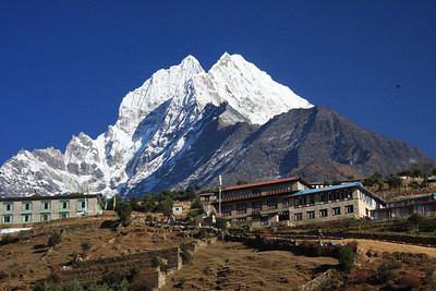 View from Namche Bazaar