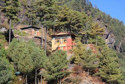Hillside Monastery near Phakding