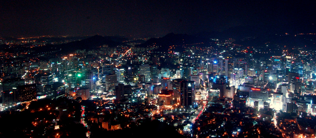 Seoul by night