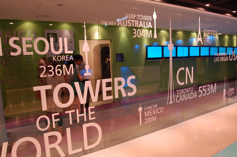 Towers of the world (been there, done that)