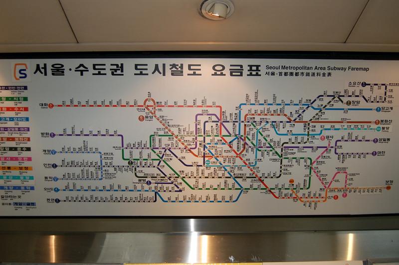Seoul Metro Spaghetti