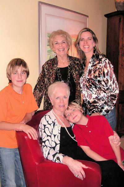 Jacob, Ursula, Anthony, Nonna and Elizabeth
