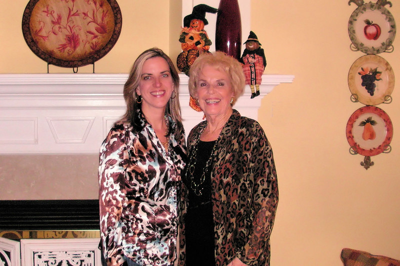 Elizabeth and Nonna