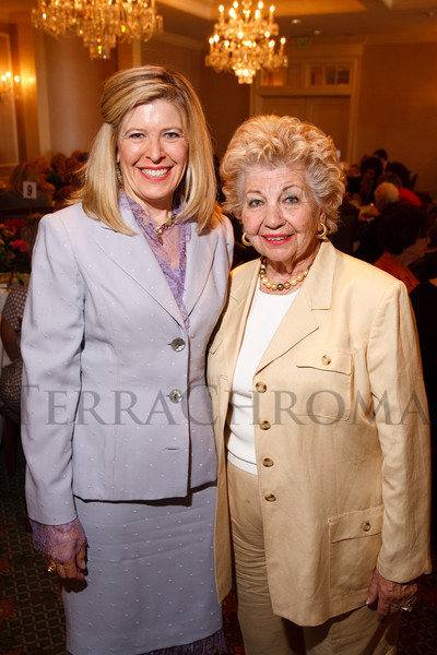 (Denver, Colorado, Sept. 17, 2008)<br /> Debi Tepper and Goldie Ellensweig.  Award luncheon for the Crohn's & Colitis Foundation of America, Rocky Mountain Chapter, at the Denver Country Club in Denver, Colorado, on Wednesday, Sept. 17, 2008.<br /> STEVE PETERSON