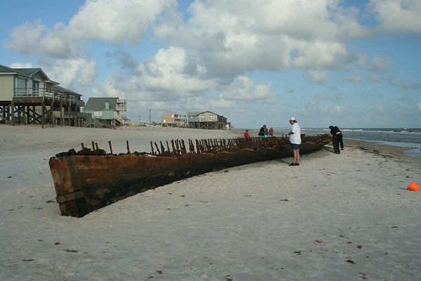 Mystery Ship at Fort Morgan