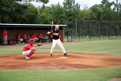 The alumni vs students baseball game, during which the naming of the baseball field occurred; September 27, 2008.