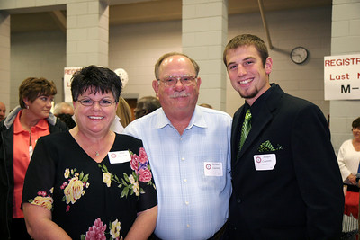 Senior pinning was held in the Paul Porter Arena; September 26, 2008.