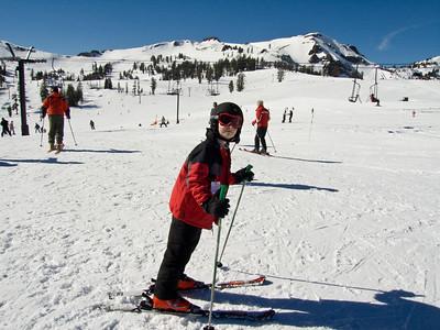 Skiing At Squaw 2008