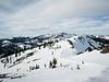 A view along the ridge line, Alpine Meadows.