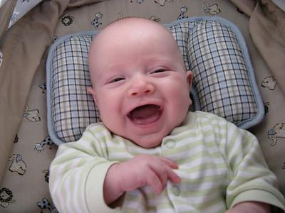 Charlie giggles!