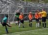 Yohannes at a penalty kick