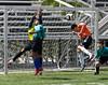 Jonathan deflects a goal attempt