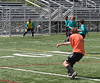 Jonathan defending the goal