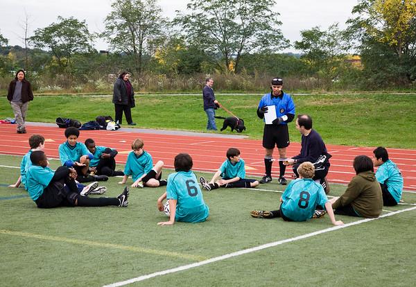 Soccer, October 2008