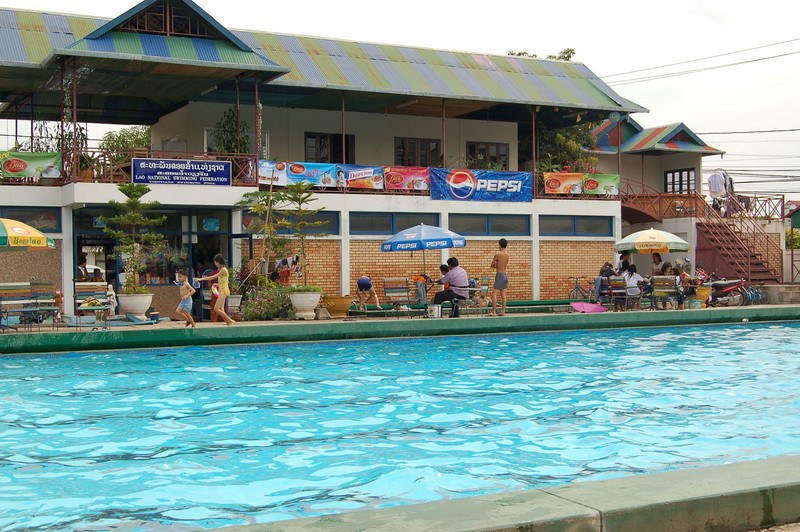 Laos National Swimming Pool