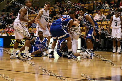 Army Black Knights lost to the Presbyterian Blue Hose, 59-43, at West Point's Christl Arena on Monday, December 1, 2008