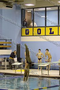 Newburgh Free Academy Men's Swim Team took on Monroe Woodbury on Wednesday, December 3, 2008.